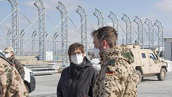 Kramp-Karrenbauer in Afghanistan