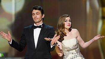 James Franco & Anne Hathaway
