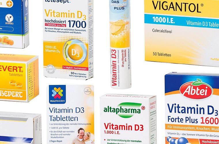 Vitamin D: kotest warns against preparations