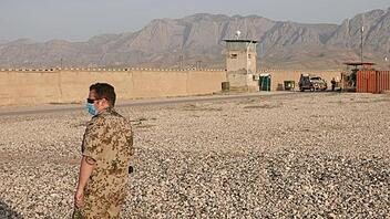 Camp Marmal in Afghanistan