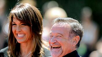 Robin Williams + seine Frau Susan