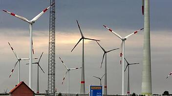 Windpark bei Altentreptow