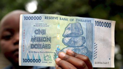 Inflation in Simbabwe