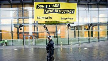 Greenpeace-Protest