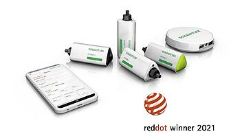 Die innovative Condition-Monitoring-Lösung Optime ist Gewinner des diesjährigen Red Dot Design Awards.