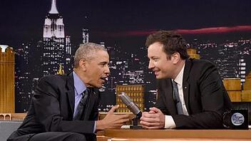 Obama bei der Tonight Show