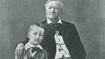 Siegfried und Richard Wagner 1880 in Neapel Vorlage: Nationalarchiv der Richard-Wagner-Stiftung